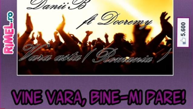 DaniiB ft. Dooremy – Vara asta ( Romania )